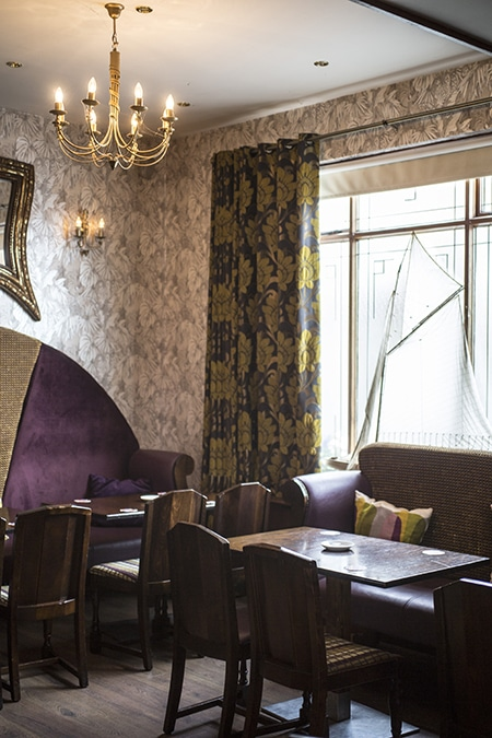 The function room at The Strand, Rush